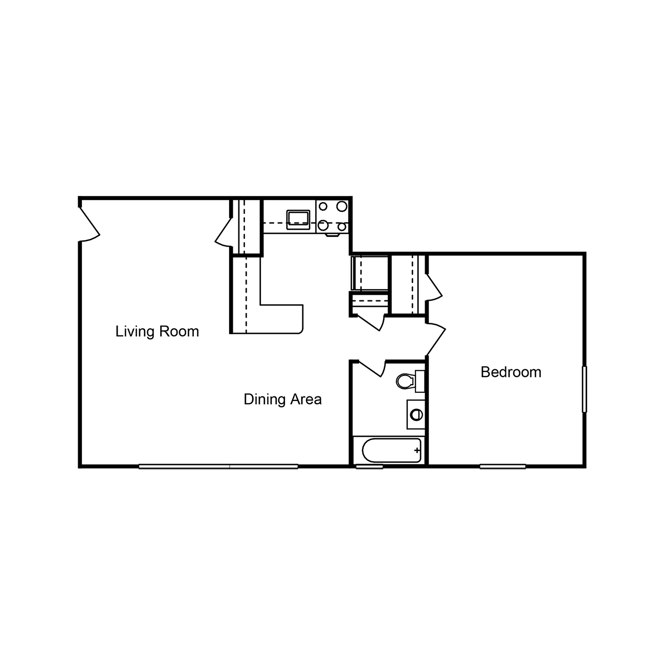 The Crossing Apartments Dc: Floor Plans – Friendship Crossing Apartments
